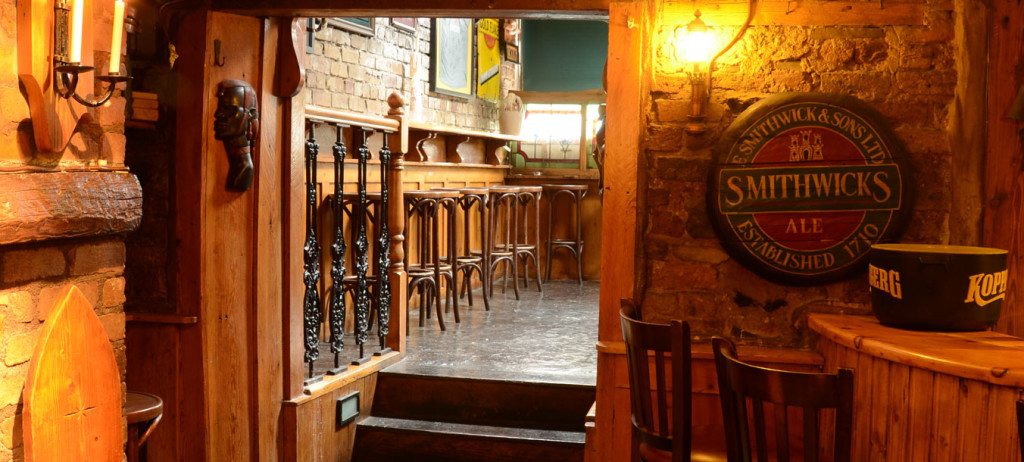 The Mother Reilly's Bar at The Uppercross House Hotel Dublin Ireland